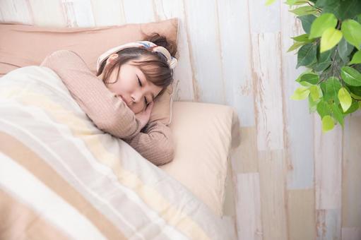 ふわっとマシュマロブラ 寝る時